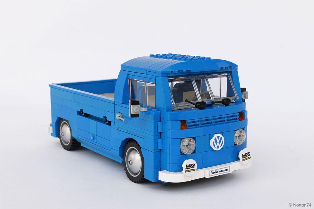 t2b pickup lego 2 cr dit voiture. Black Bedroom Furniture Sets. Home Design Ideas