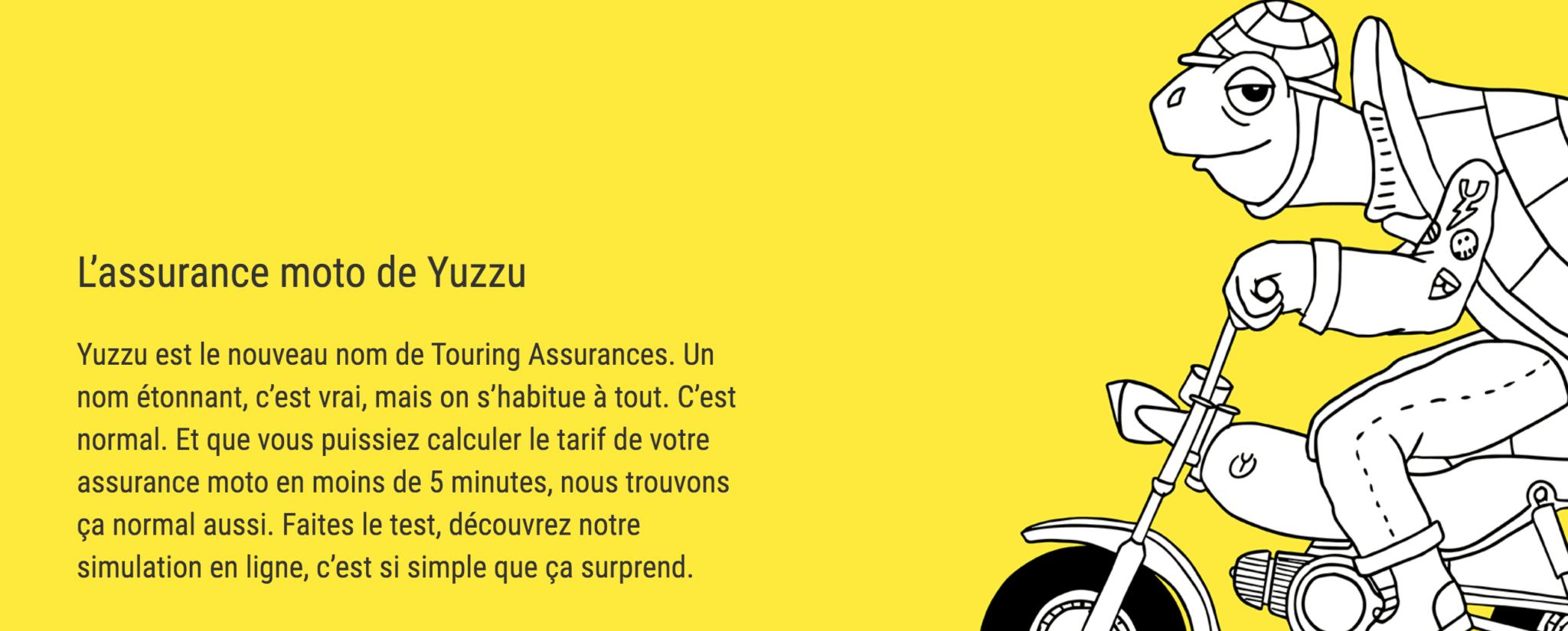 assurance moto yuzzu